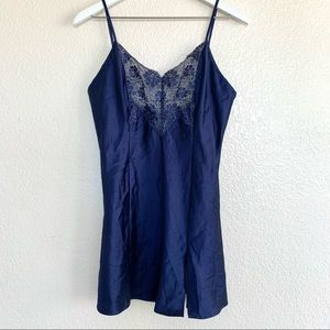 Victoria's Secret Vintage Lace Satin Teddy Lingere